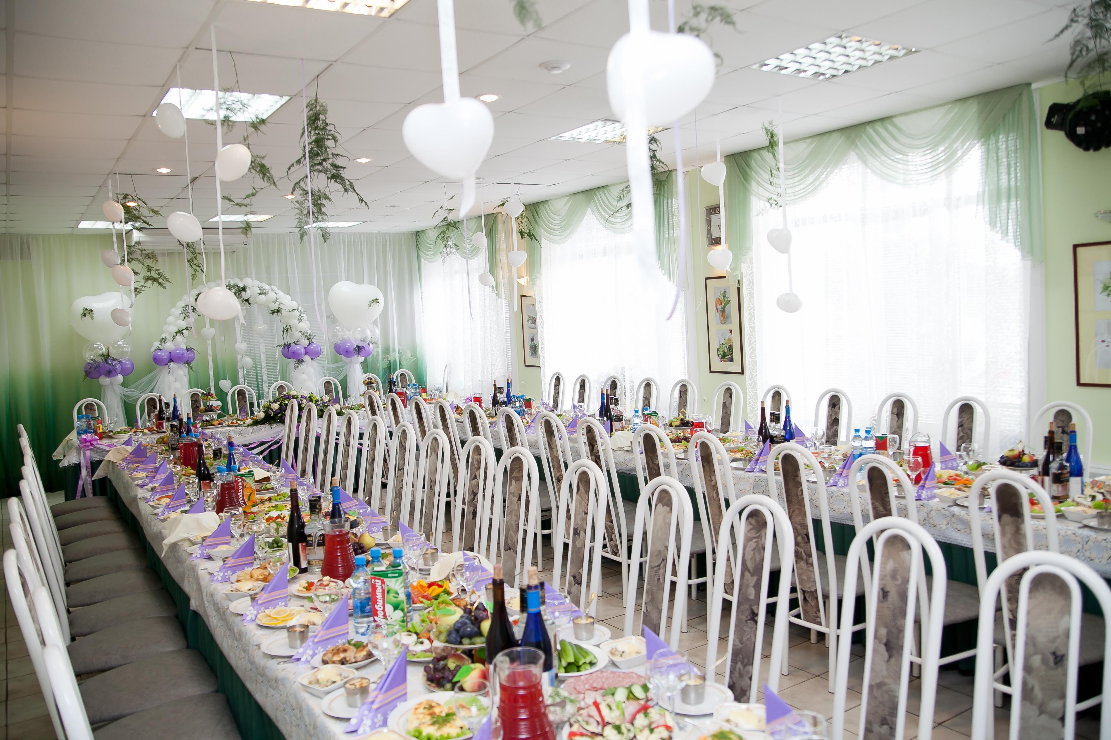 Банкетные залы для свадьбы вологда