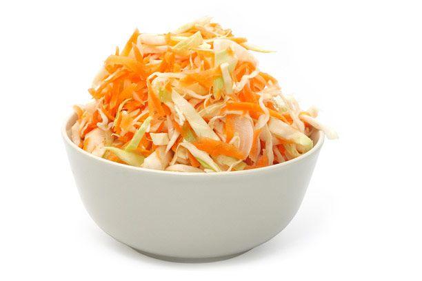 салат из капусты с морковью и перцем с уксусом